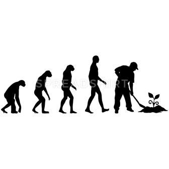 evolution-gardening-t-shirts-men-s-premium-t-shirt
